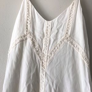 Altar'd State Dresses - ALTAR'D STATE cream mini dress